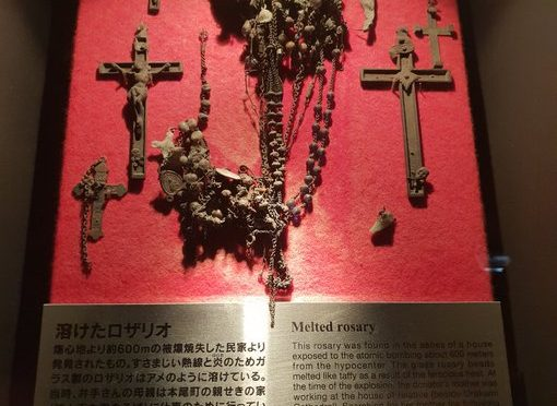 Melted Rosary Beads